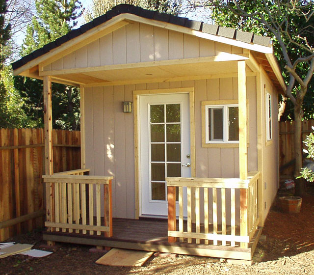 Playhouses poolhouses sheds decks and more in for Shed playhouses