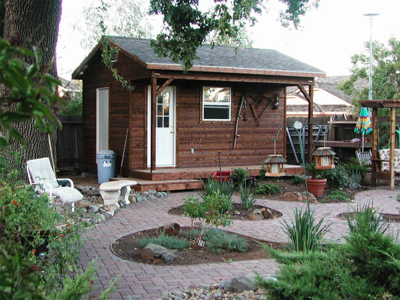 Sheds decks fences garages and more in sacramento ca sheds n